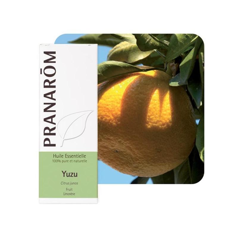 Aceite esencial de yuzu 5 ml. (pranarôm)