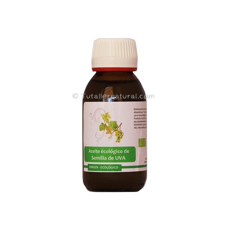 Aceite de semilla de uva virgen BIO 100 ml.