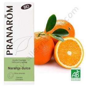 Aceite esencial de Naranja BIO 10ml.