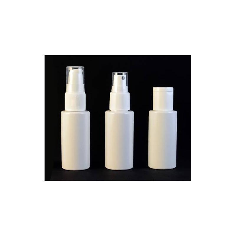 Envase de plástico 50ml. con 3 opciones