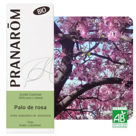Aceite esencial de Palo de Rosa (hoja) 10 ml. BIO