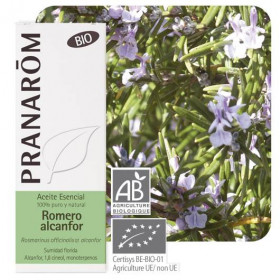 Aceite Esencial de Romero Alcanfor BIO 10 ml.