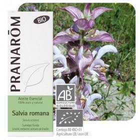Aceite esencial de salvia romana, sclarea o esclarea BIO 5ml. (pranarôm)