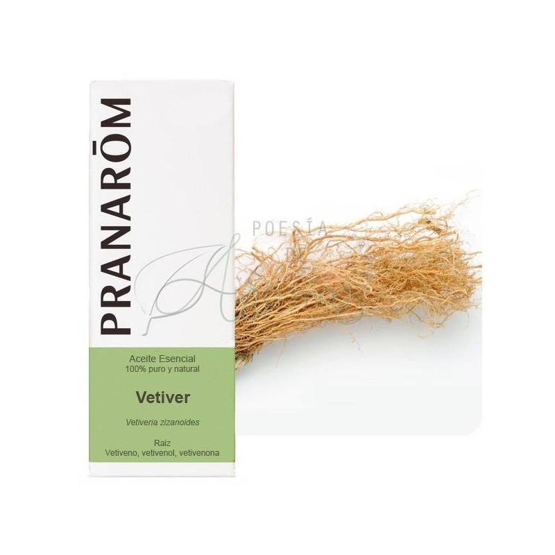 Aceite esencial de vetiver 5 ml.