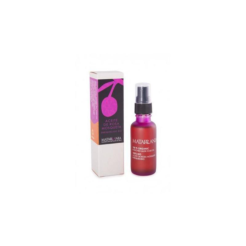 Aceite de rosa mosqueta enriquecido BIO 30 ml.