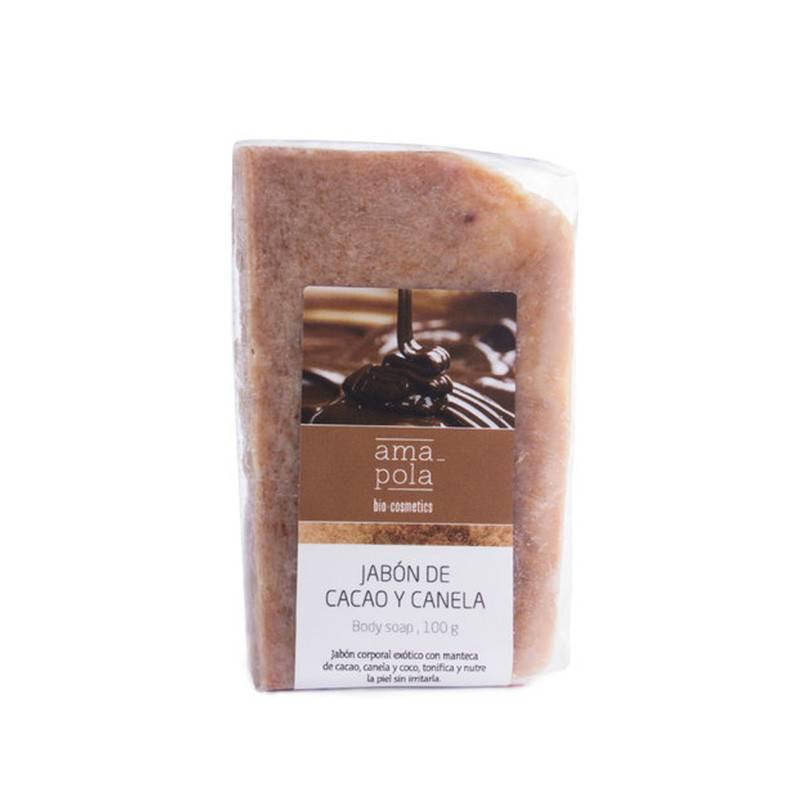 Jabón de cacao y canela BIO 100 gr.