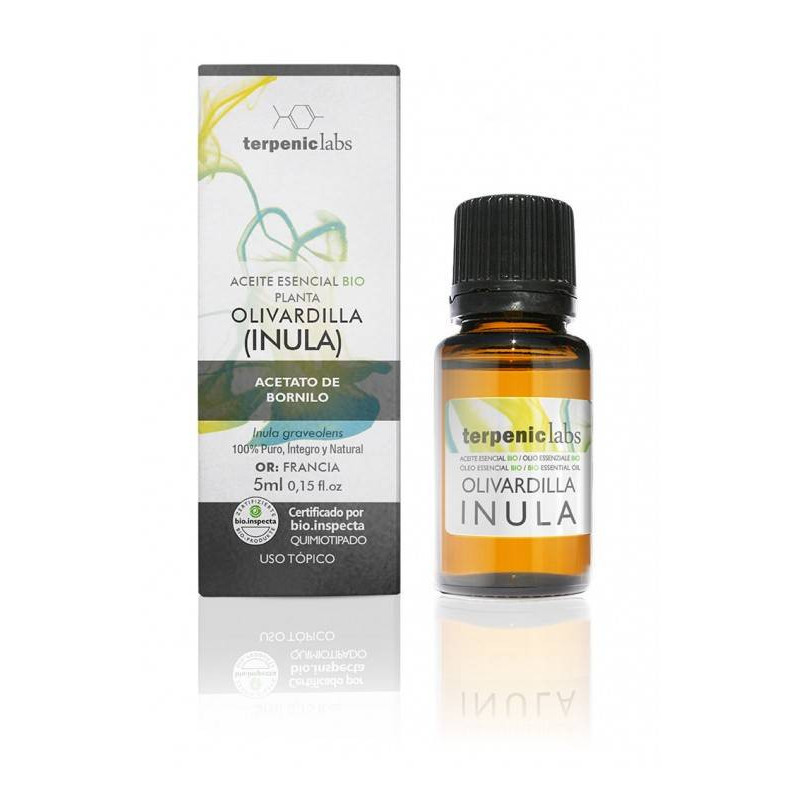Aceite esencial de olivardilla o inula BIO 10 ml.