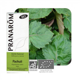 Aceite esencial de Pachuli BIO 10 ml.