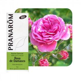 Aceite esencial de rosa damascena bio 5 ml.