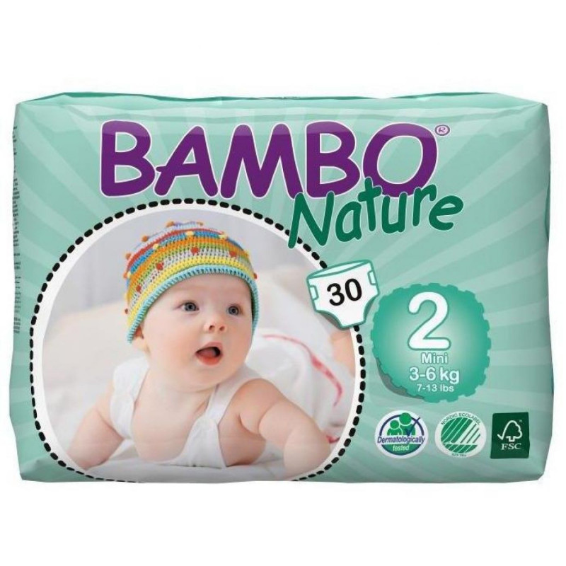 Pañales desechables Bambo Nature