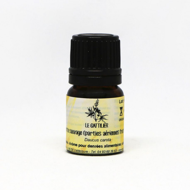 Aceite esencial de zanahoria silvestre BIO 2 ml. - Le Gattilier