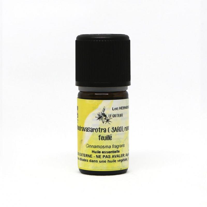 Aceite Esencial de Mandravasarotra o Saro silvestre BIO 5 ml