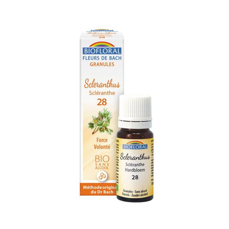 Scleranthus BIO 9 gr. sin alcohol (en gránulos)