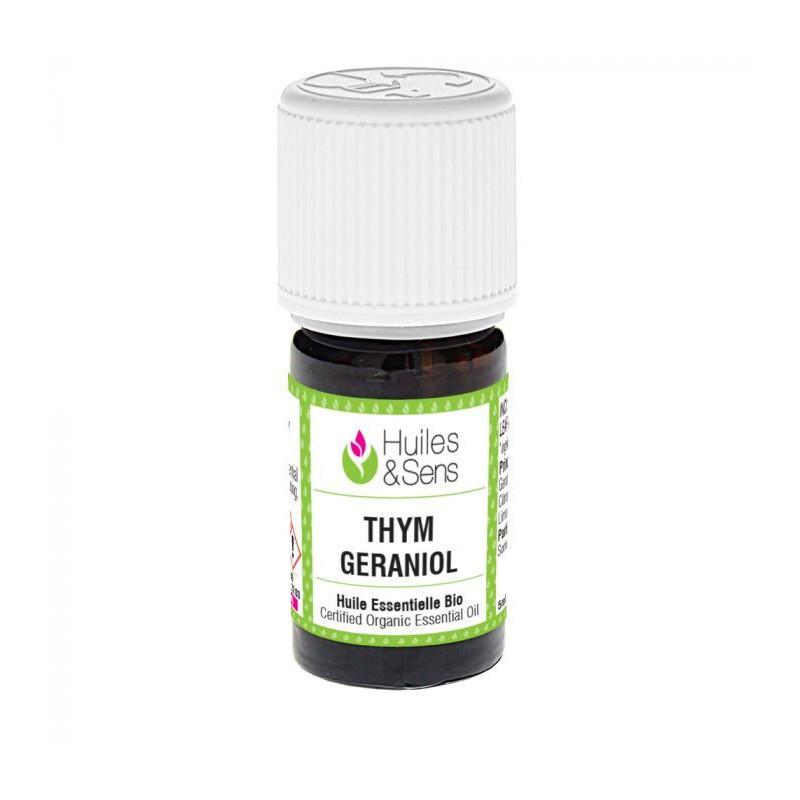 Aceite esencial de tomillo QT geraniol 5 ml.