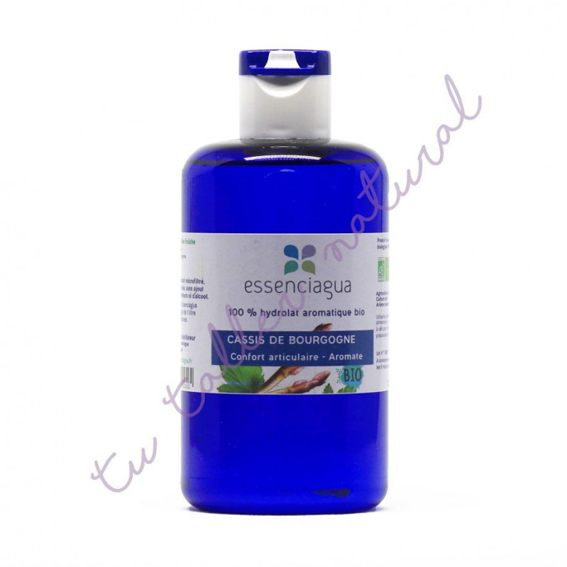 Hidrolato de casis (grosellero negro) BIO 250 ml. (apto para la vía oral)