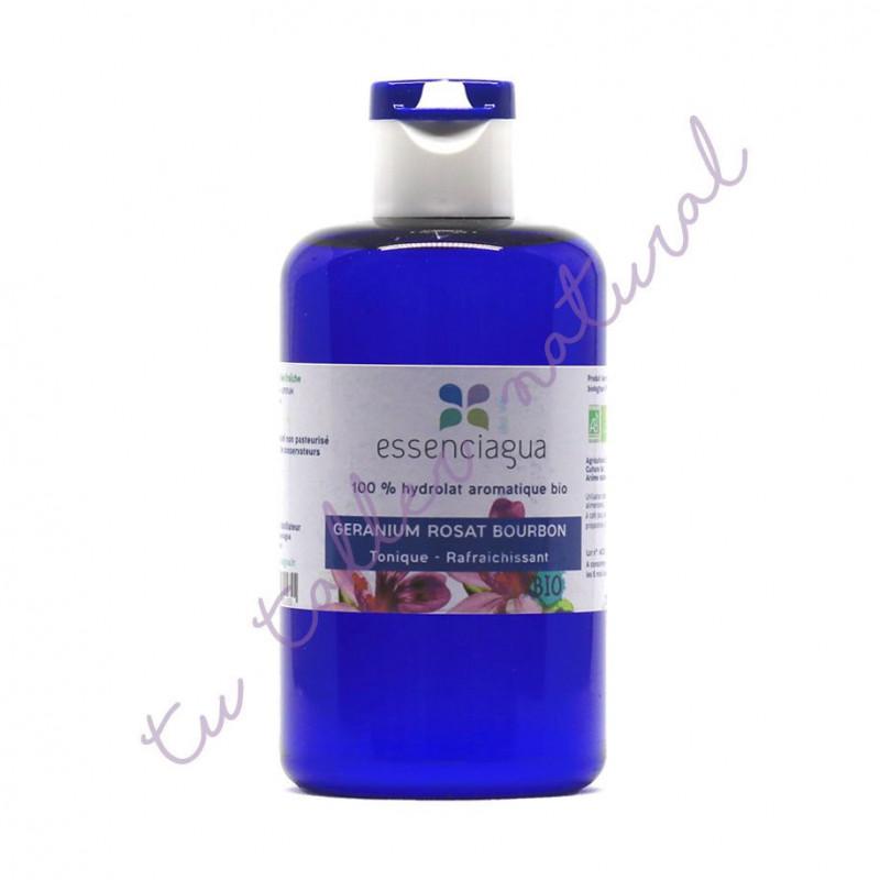 Hidrolato de geranio Bourbon BIO 250 ml. - Essenciagua