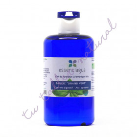 Hidrolato de albahaca linalol BIO 250 ml. (Apto vía oral)