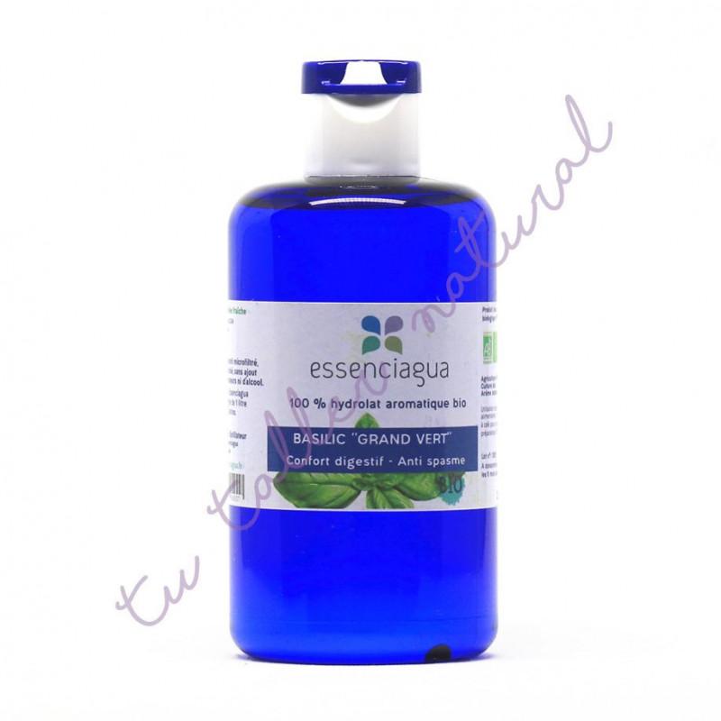 Hidrolato de albahaca linalol BIO 250 ml. (Apto vía oral) - Essenciagua