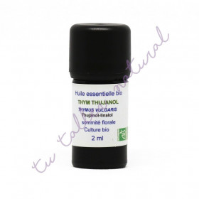 Aceite esencial de tomillo tujanol BIO 2 y 5 ml.