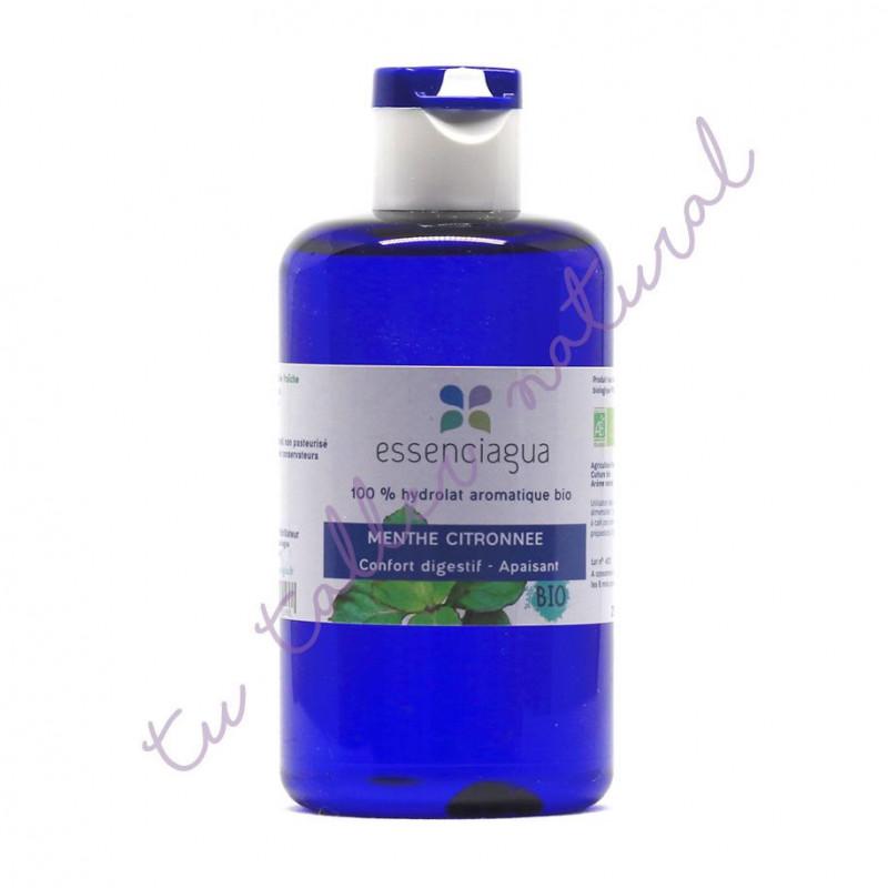 Hidrolato de menta bergamota BIO 250 ml. (Apto vía oral) - Essenciagua