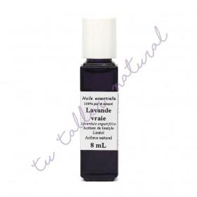 Aceite esencial de lavanda silvestre BIO 8 ml. (Ródano-Alpes)