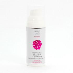 Crema facial de azahar y frambuesa BIO 50 ml.