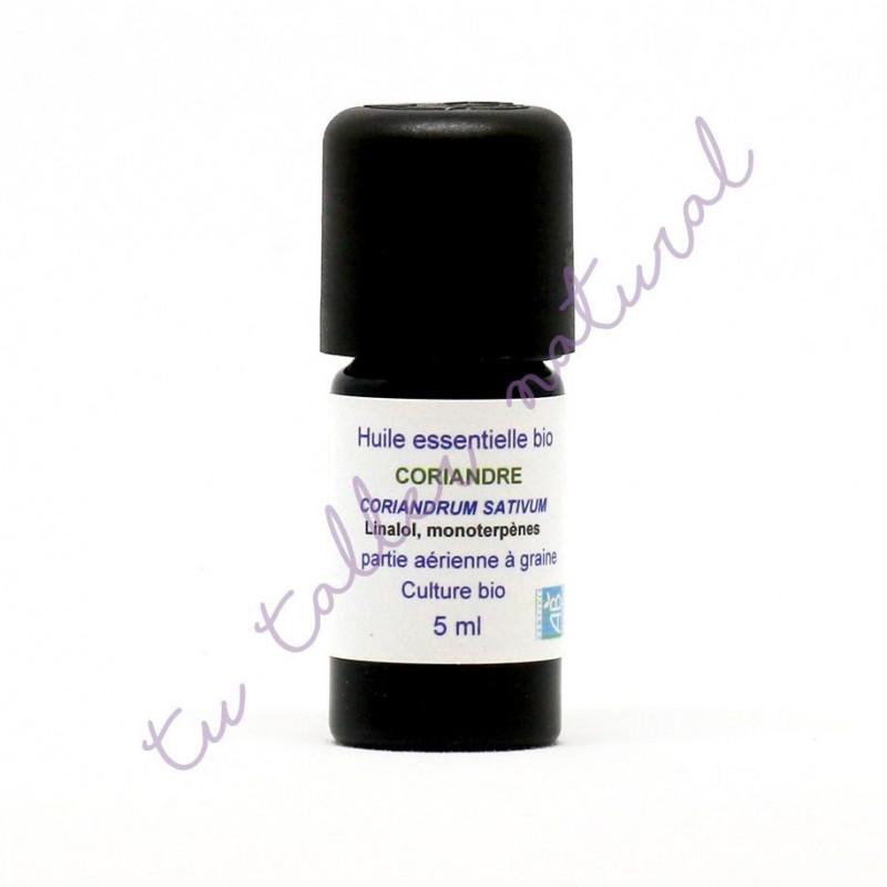 Aceite esencial de Coriandro BIO 5 ml. - Essenciagua