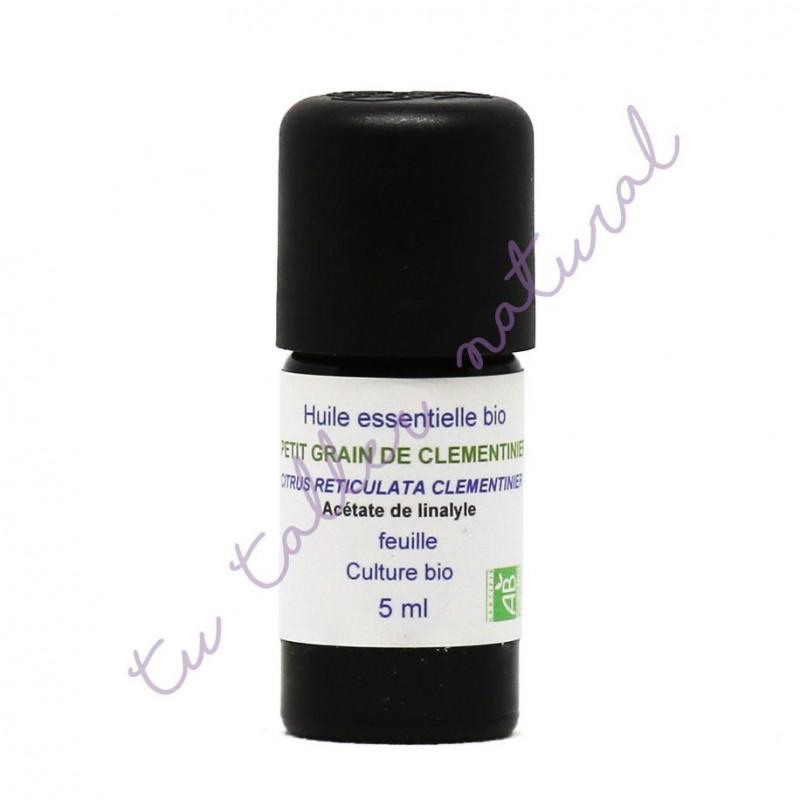 Aceite Esencial de petit grain clementino BIO 5 ml. - Essenciagua