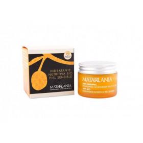 Hidratante nutritiva piel sensible BIO 30 ml.