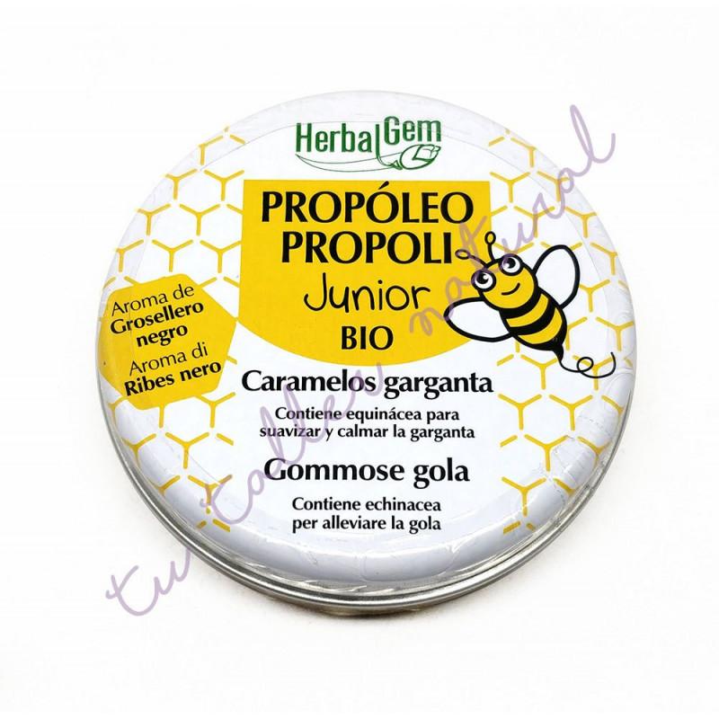 Caramelos de propóleo Junior BIO 45 gr. - HerbalGem