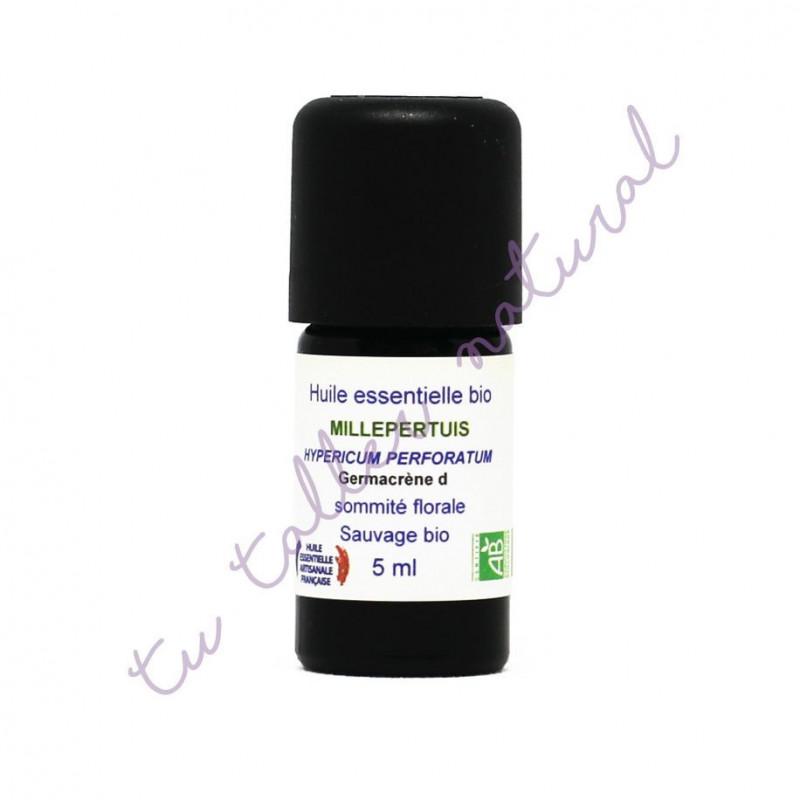 Aceite esencial de hipérico silvestre BIO 5 ml. - Essenciagua