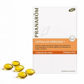 Aceite esencial de orégano cápsulas BIO