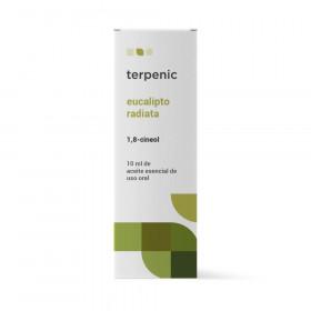 Aceite esencial de eucalipto radiata 10 ml.