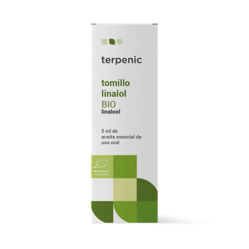 Aceite esencial de tomillo linalol BIO 5ml - Terpenic Labs