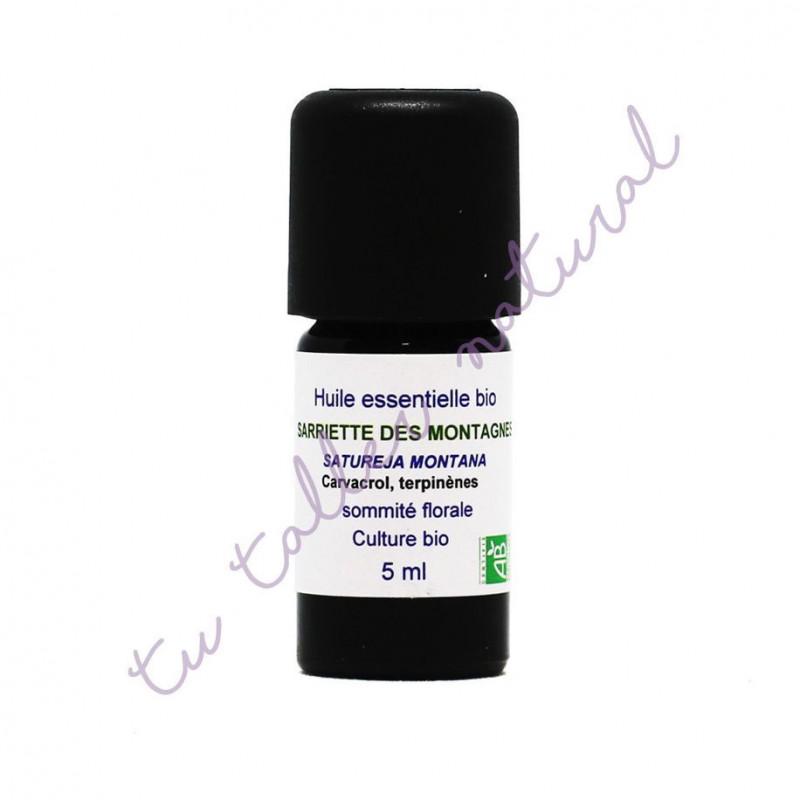Aceite esencial de ajedrea BIO 5 ml. - Essenciagua