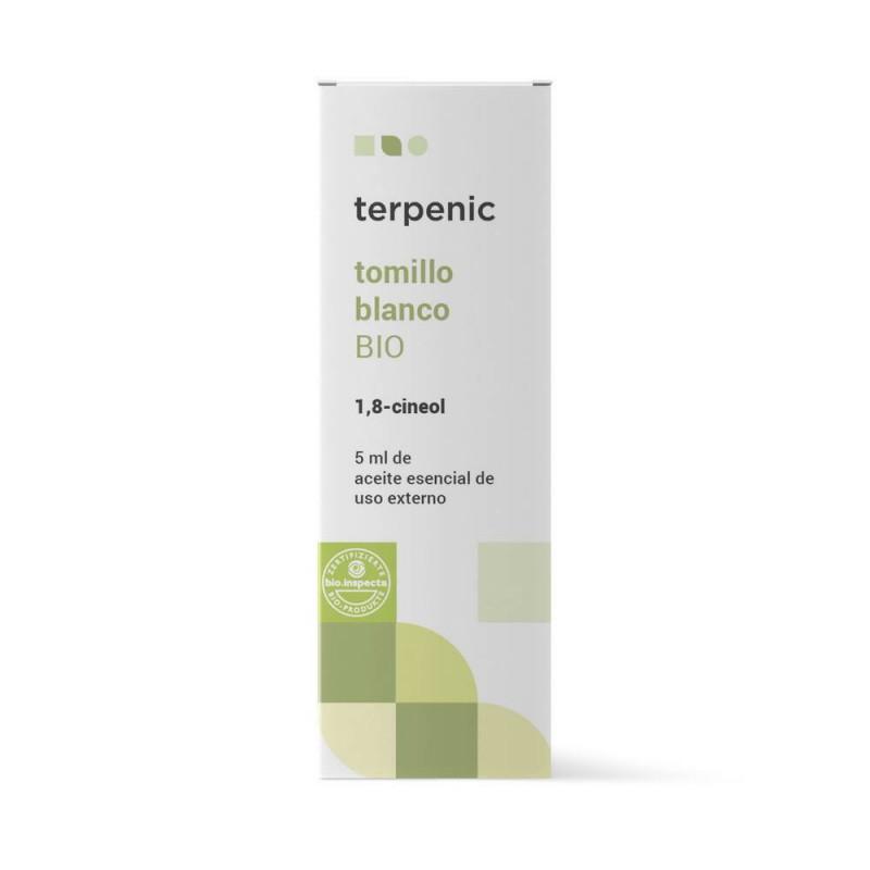 Aceite esencial de tomillo blanco 5 ml. BIO - Terpenic Labs