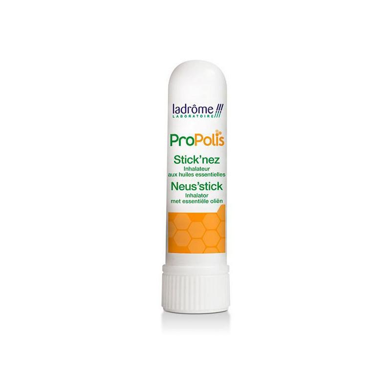 Inhalador de bolsillo con própolis y aceites esenciales Bio