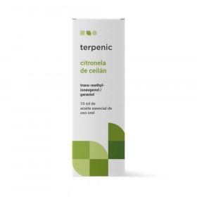 Aceite esencial de citronela de Ceylán 10 ml.