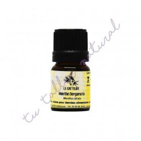 Aceite Esencial de Menta bergamota BIO 2 y 5 ml.