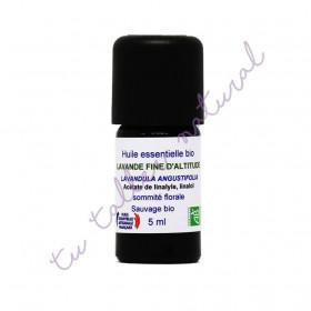 Aceite esencial de lavanda de altura silvestre BIO 5 ml.