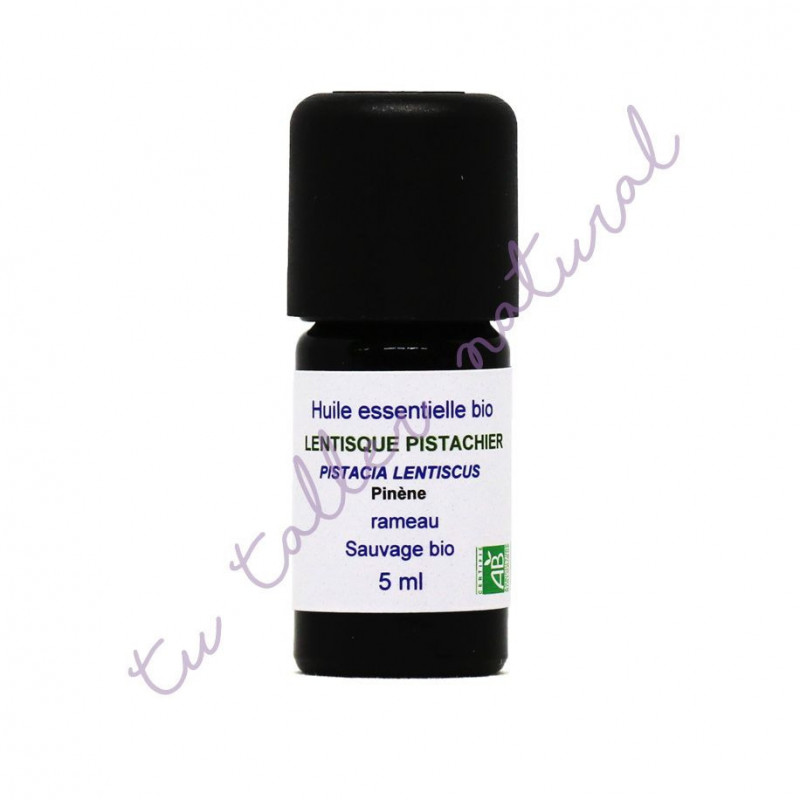 Aceite esencial de Lentisco silvestre BIO 5 ml - Essenciagua