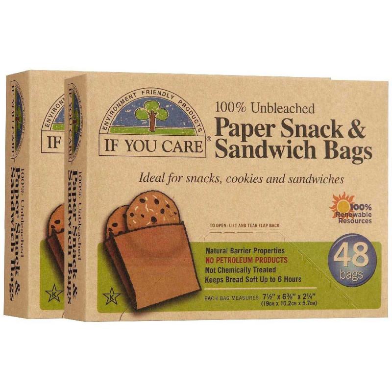 Bolsas de papel Sandwich, 48u
