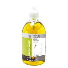 Jabón de Alepo líquido BIO 500 ml.