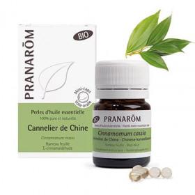 Aceite esencial de canela de china BIO en perlas - Pranarom