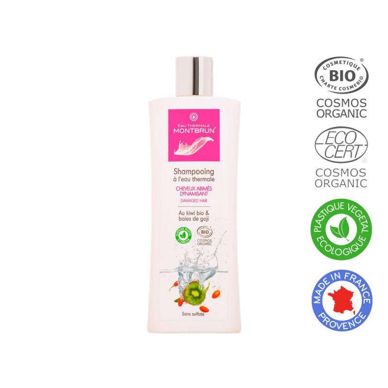 Champú con agua termal para cabello dañado Bio 250ml. - Eau Thermal Montbrun