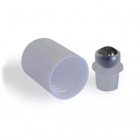 Tapón Roll on bola de acero para frascos DIN18 (2 piezas)