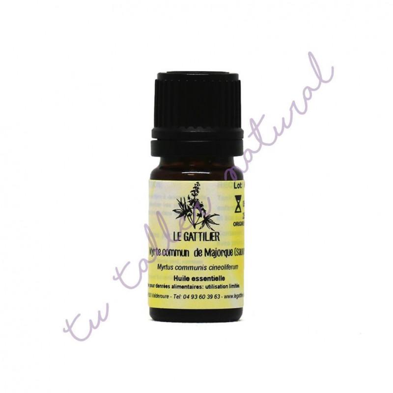 Aceite esencial de mirto verde silvestre de Mallorca 5 ml. - Le Gattilier