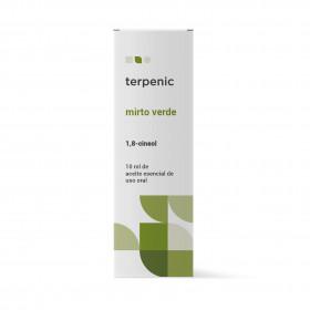 Aceite esencial de mirto verde 10 y 30 ml.