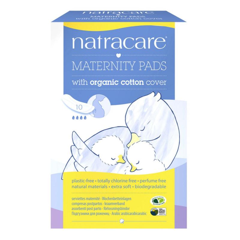 Compresas postparto con algodón orgánico 10 un- Natracare