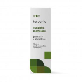 Aceite Esencial de eucalipto mentolado 10 ml.